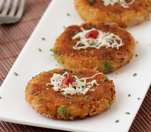 Bread Cutlet Recipe